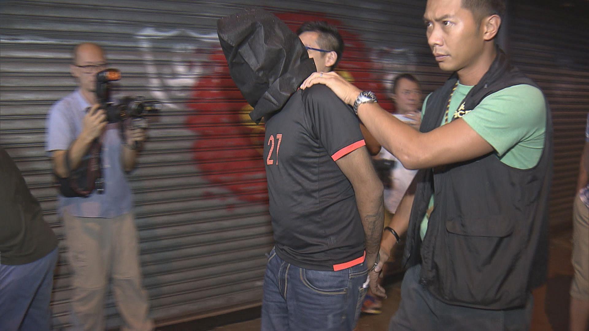 男子涉旺角兩宗行劫案被捕