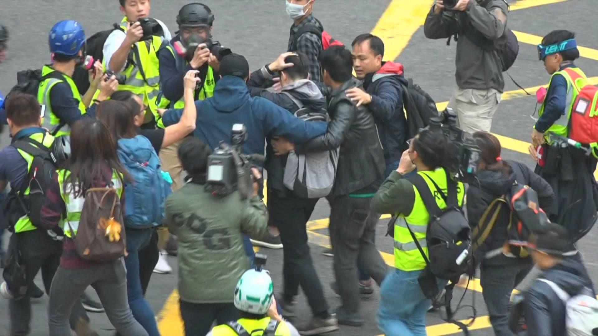 警方拘捕7人涉嫌非法集結及蓄意傷人