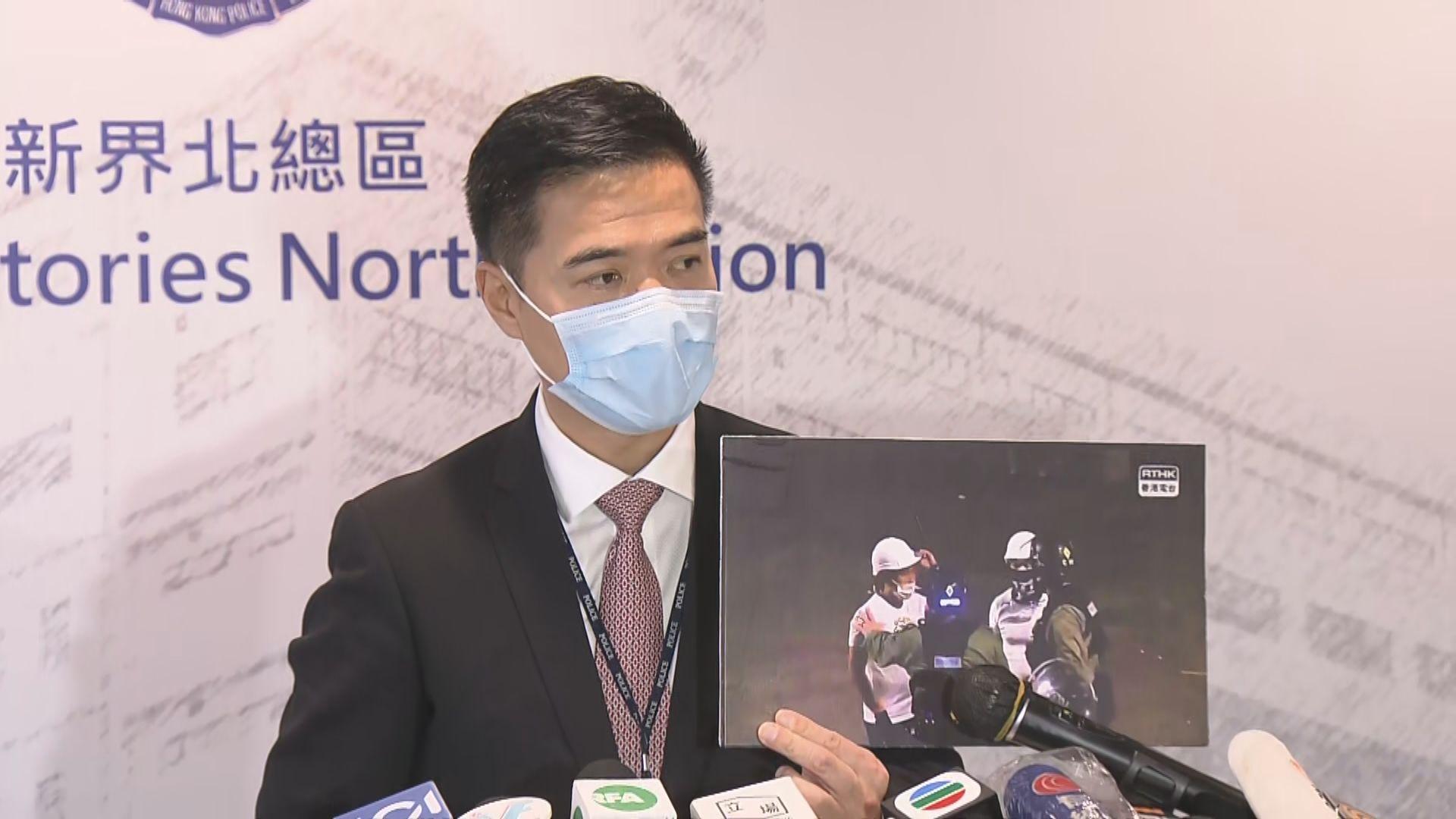 警方指721當晚非無差別襲擊事件