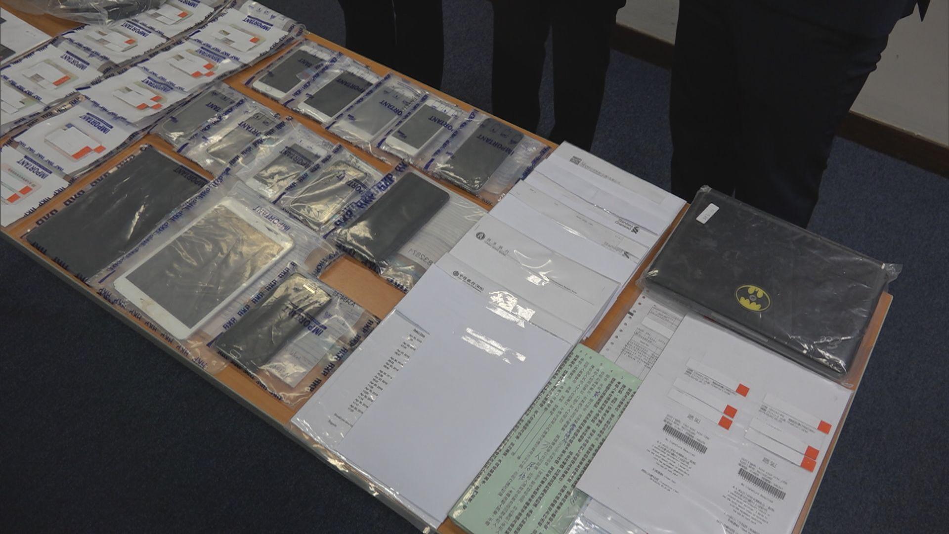 警破盜竊及信用卡詐騙集團拘六人