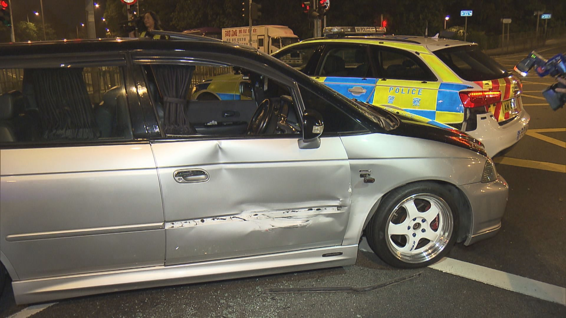 警方上水追截改裝車 司機被捕一警傷