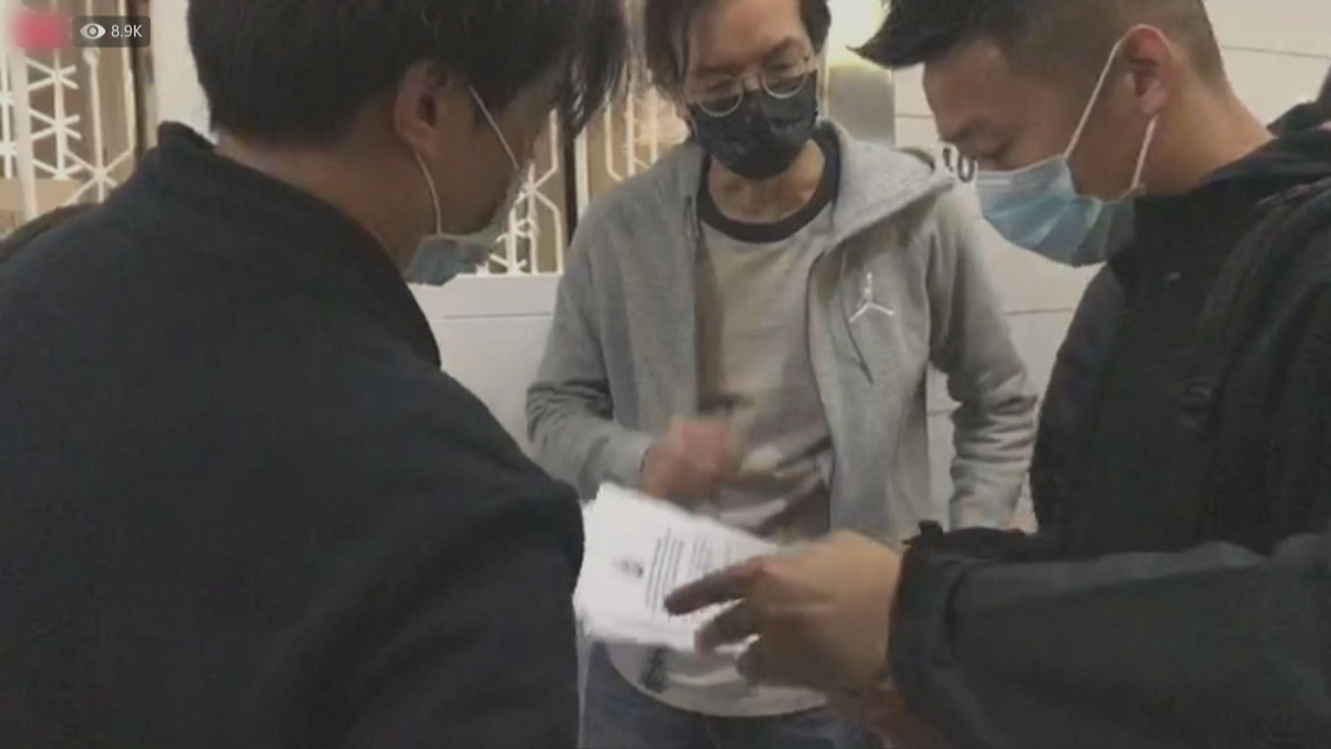 警方到立場新聞辦公室 要求交出涉國安法案件文件