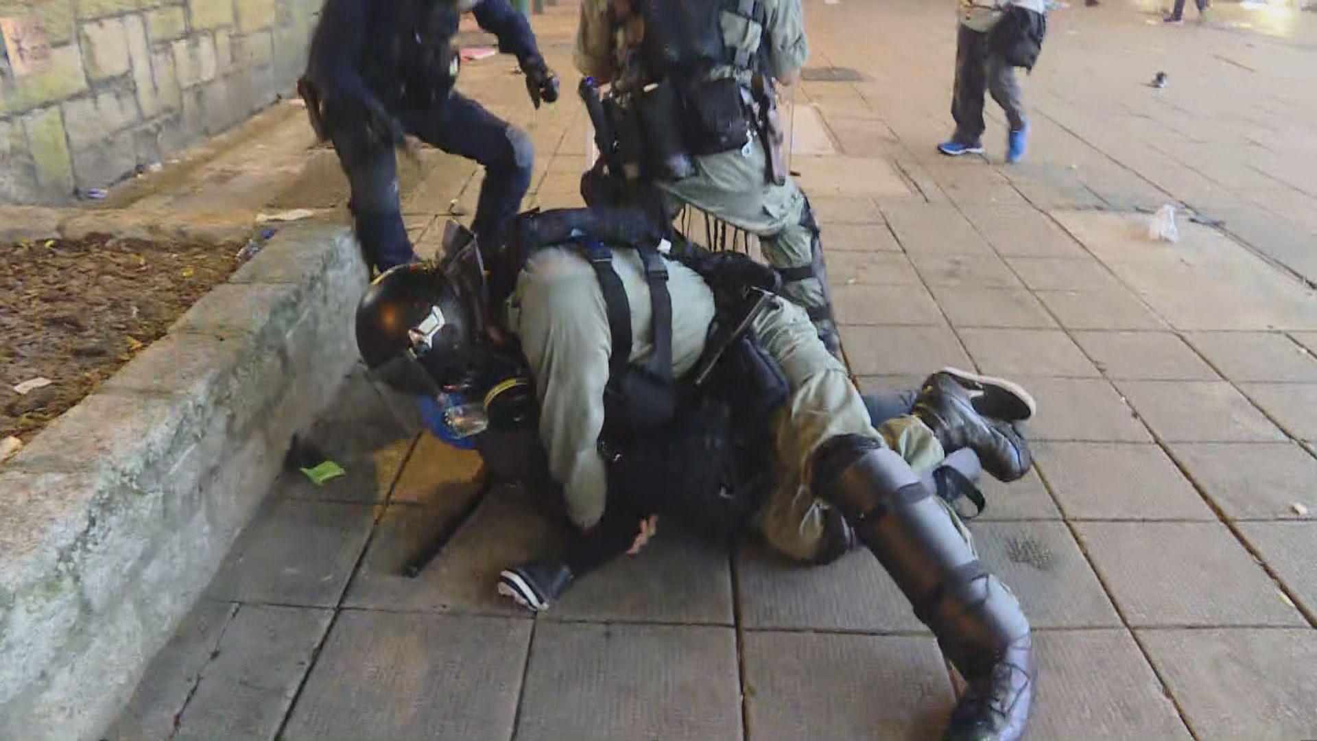 警方就反修例示威活動拘捕近1500人