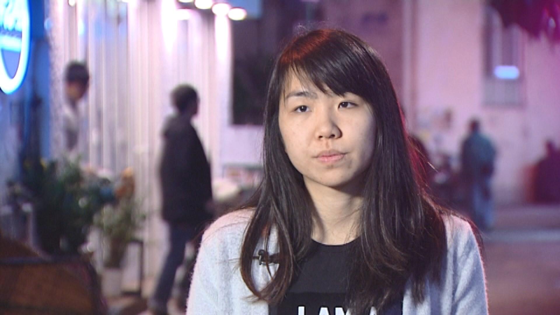港大學生會前會長孫曉嵐涉逗留會議廳被捕