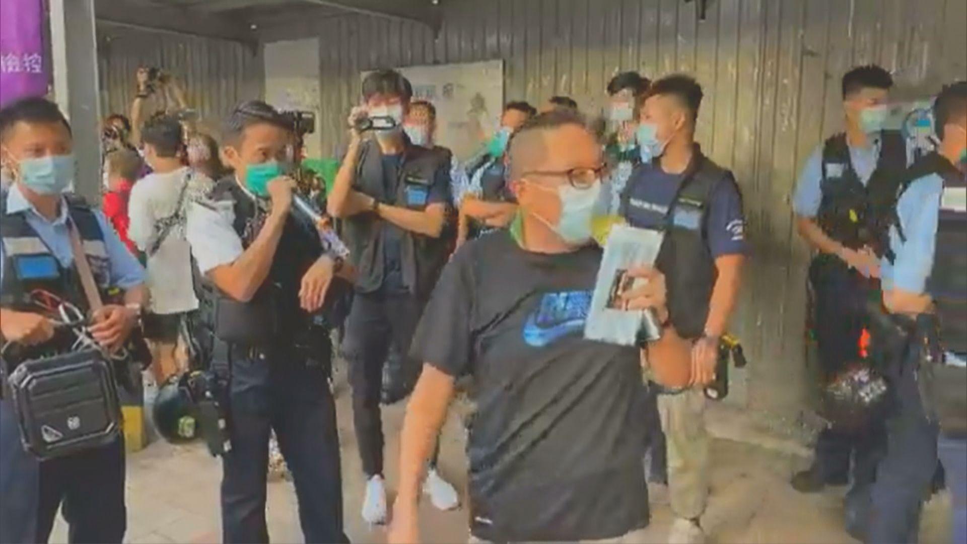 警拘譚得志指他以防疫講座為名 宣傳藐視政府言論