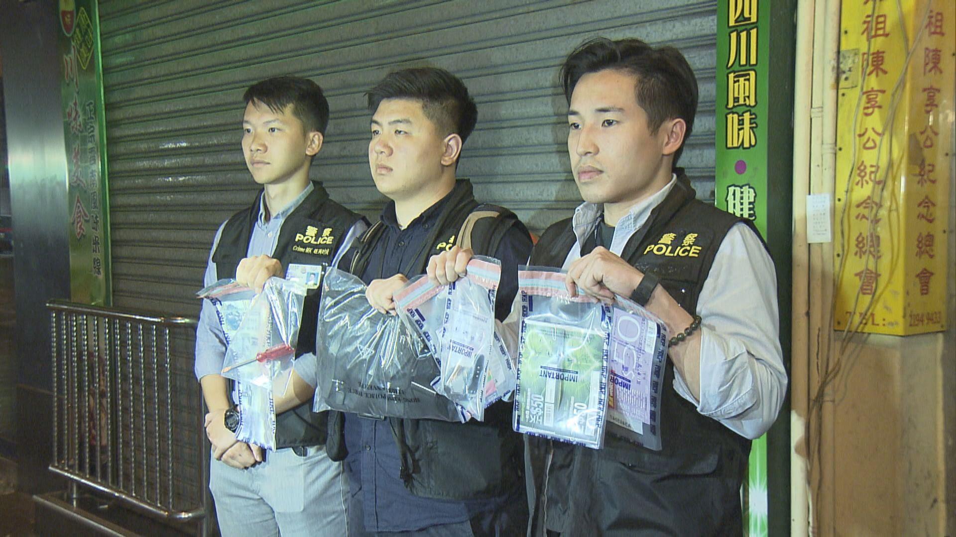 警方紅磡拘一漢涉西九龍區多宗車內盜竊