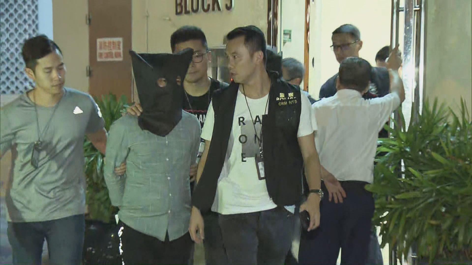警方屯門破獲祈福黨拘三男三女
