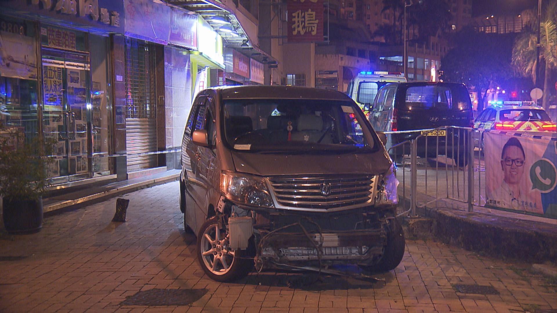 學牌司機衝路障被捕 一名警員受傷