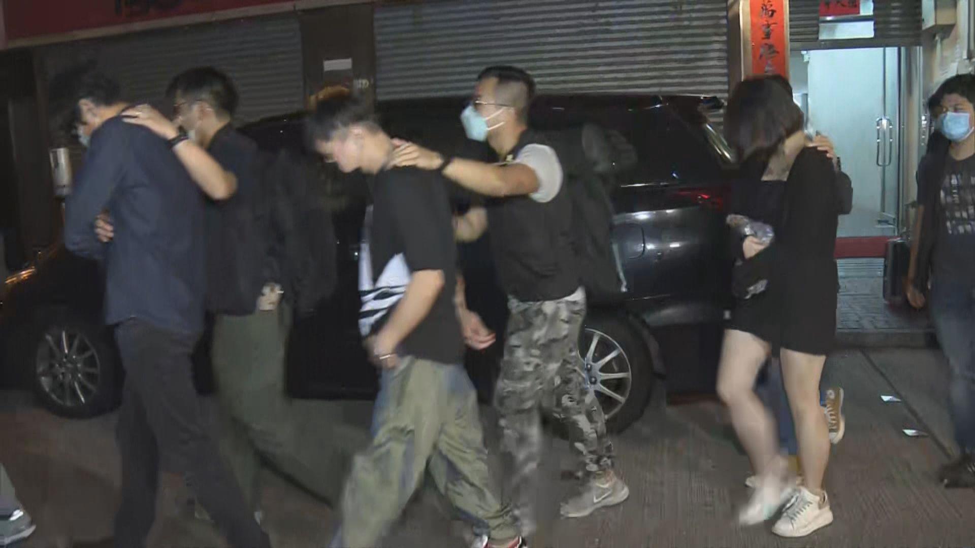 警一連兩日在油旺區進行反罪惡行動拘86人