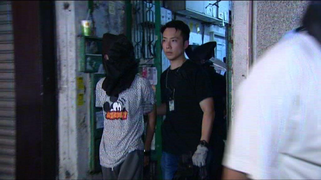 警方大角咀拘四男女涉爆竊