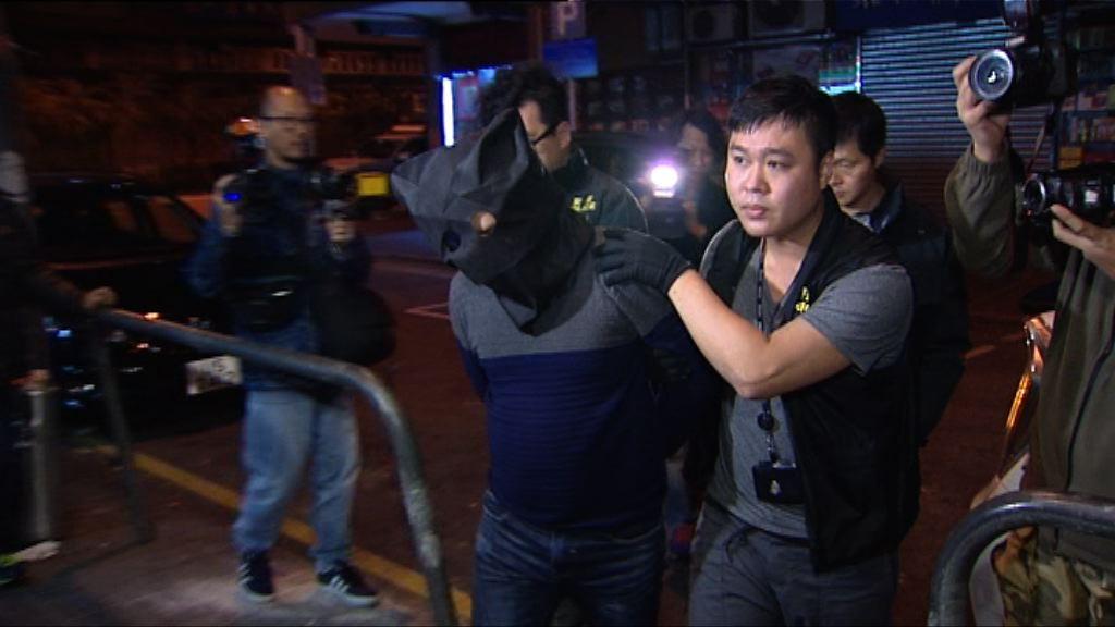 警方北角拘兩廣西漢涉連環爆竊