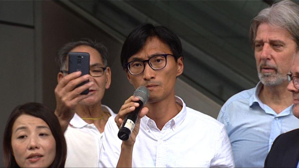 警方拘6名男子涉恐嚇朱凱廸