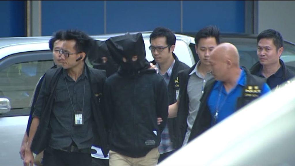 警拘6男子涉恐嚇朱凱廸部分有黑社會背景