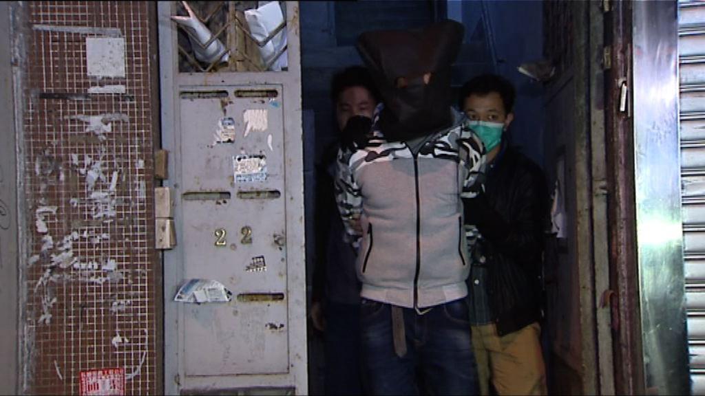 警西營盤拘外籍男女檢20萬毒品