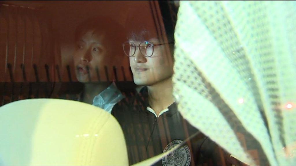港大馮敬恩涉年初衝擊校委會被捕