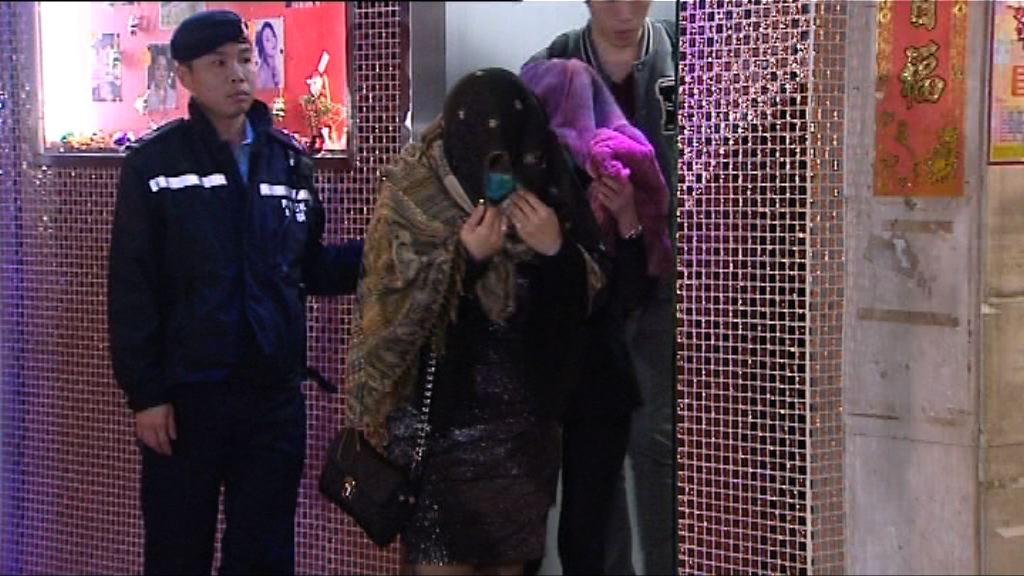警方油尖區反罪惡行動拘逾百人