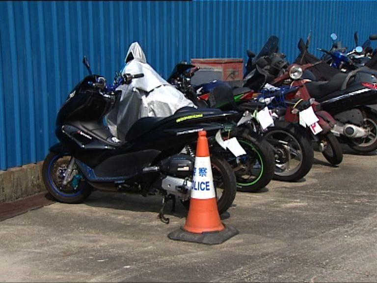 警方截獲19輛疑非法改裝電單車