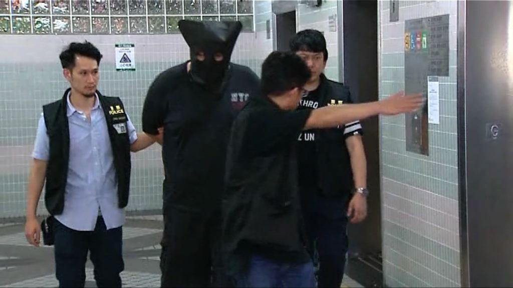 警九龍城拘一漢涉旺角賓館劫案
