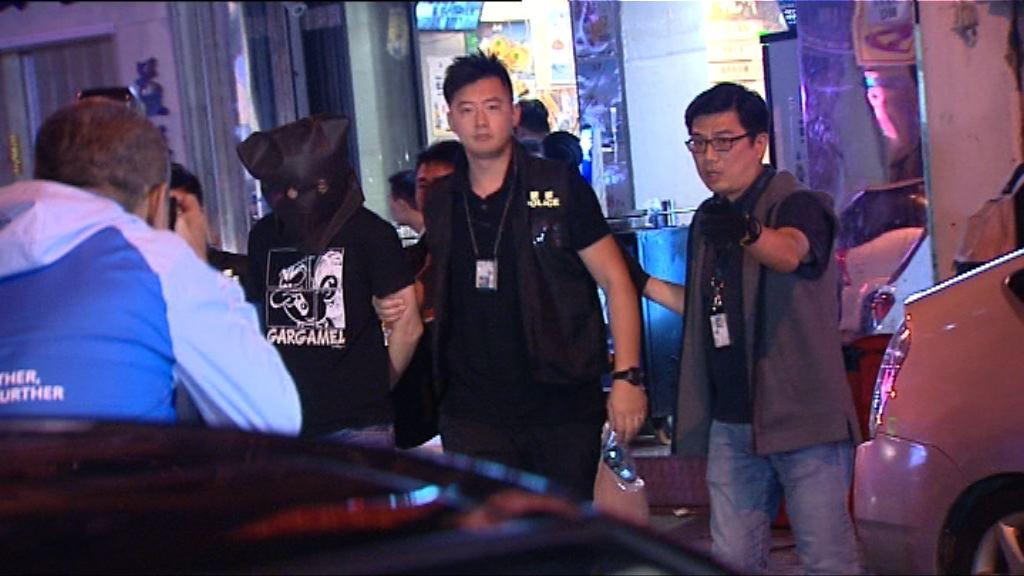 警方九龍城拘一漢涉旺角賓館劫案