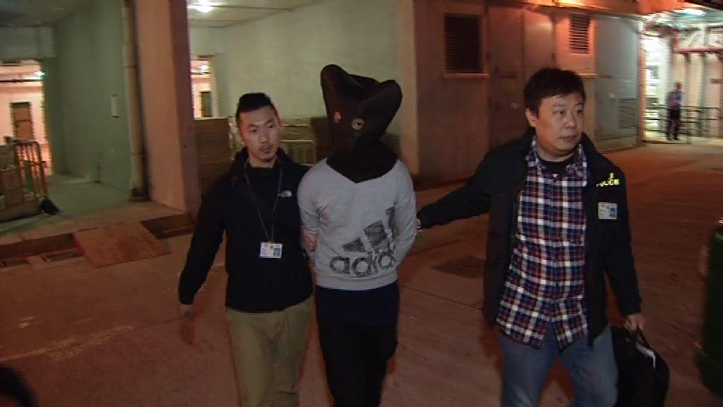 警秀茂坪拘兩人涉刑毀及藏武器