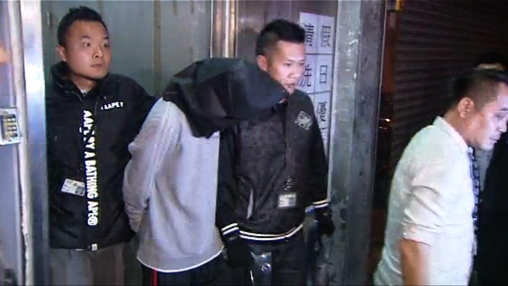 兩男子涉非法禁錮及襲擊被捕