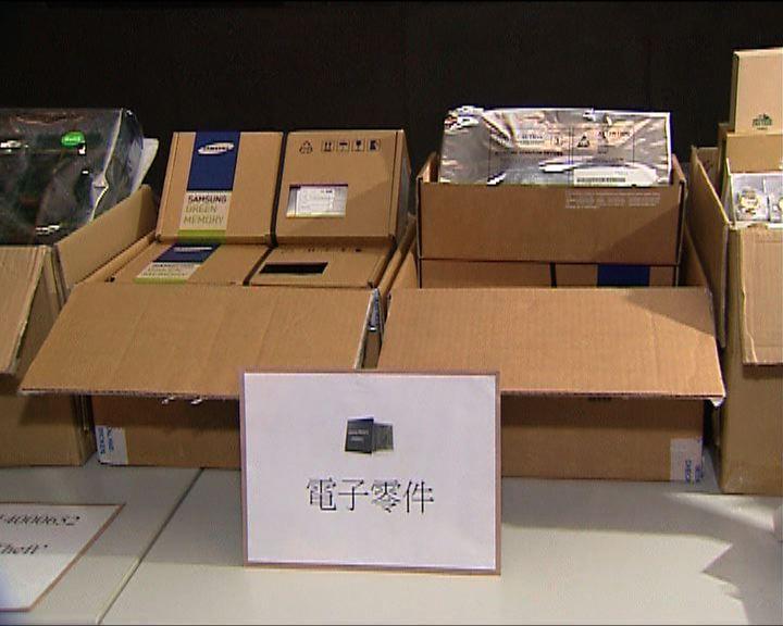 警方觀塘拘一漢涉三宗盜竊案