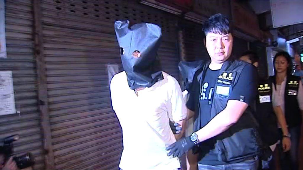 三名男女涉藏攻擊性武器被捕