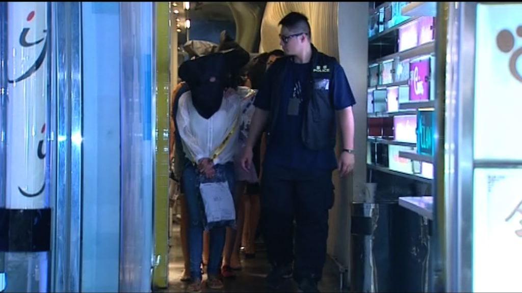 警方尖沙咀反罪惡拘46男女