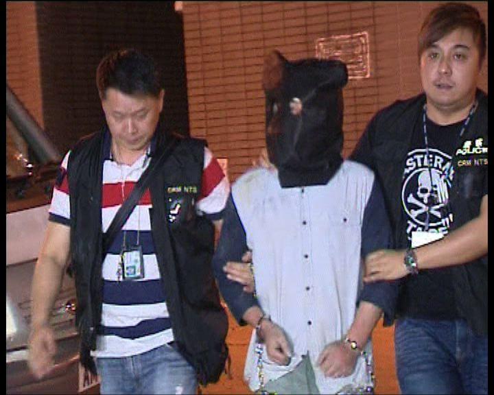 內地漢涉劫便利店及搶警槍被捕