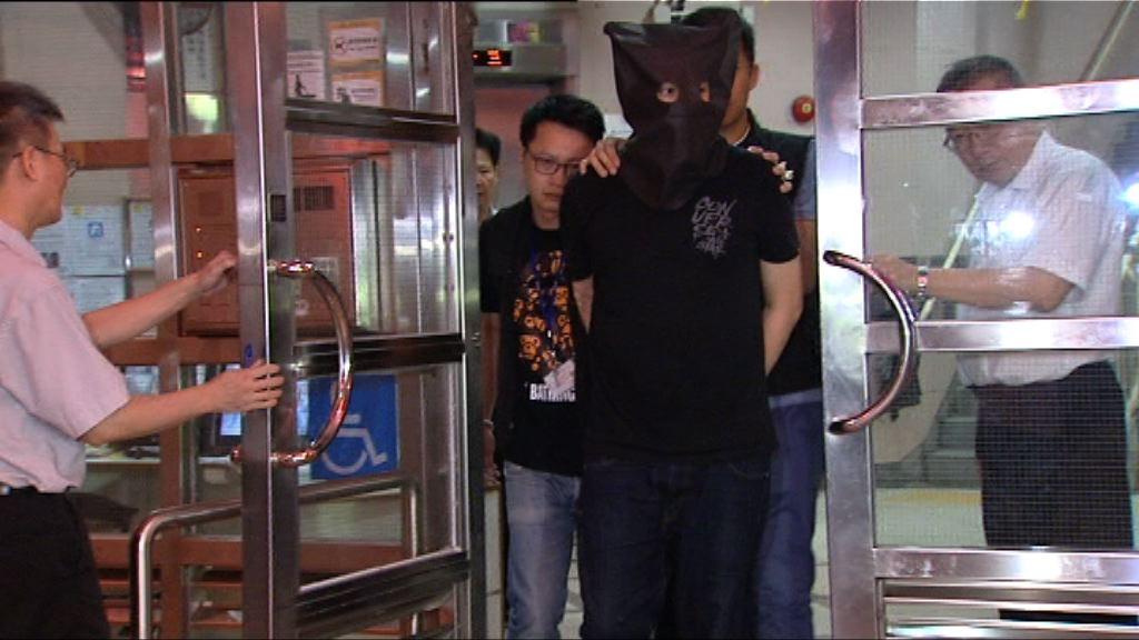 警方旺角拘一漢涉藏有武器