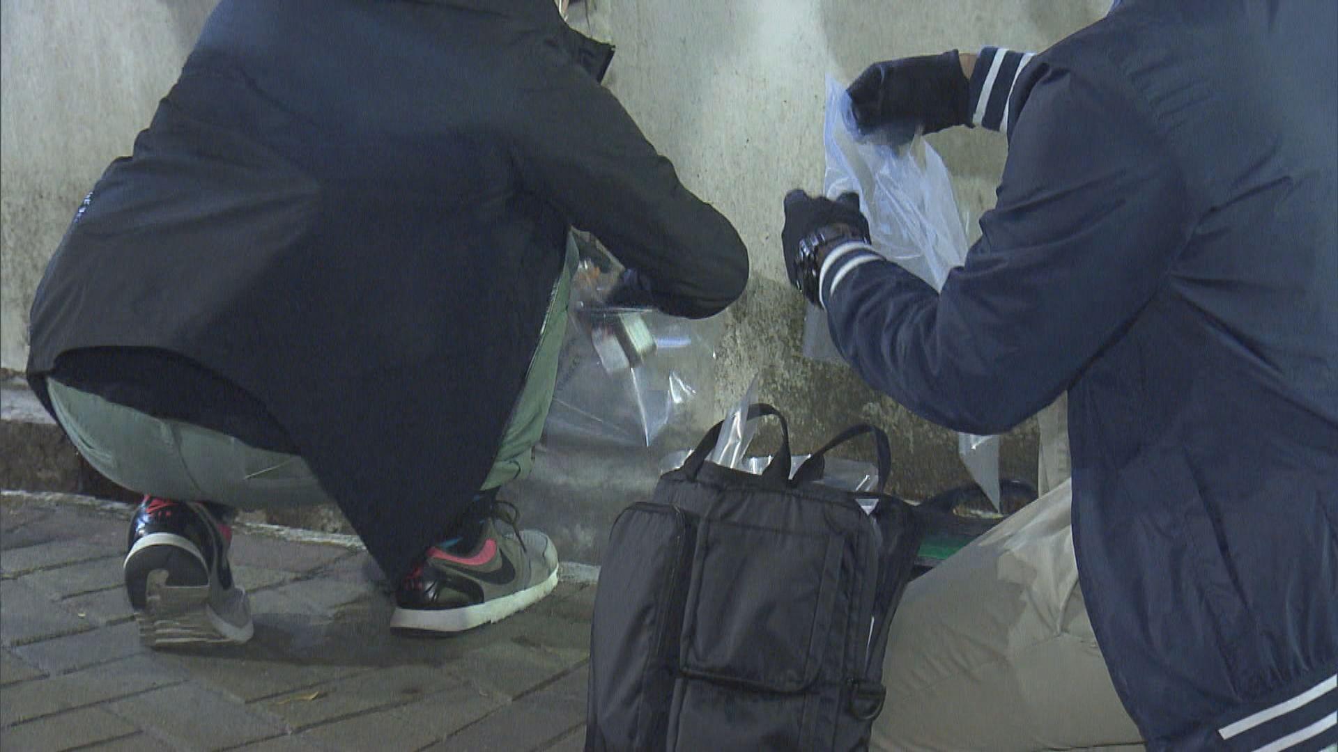 上水警察宿舍遭投擲汽油彈縱火