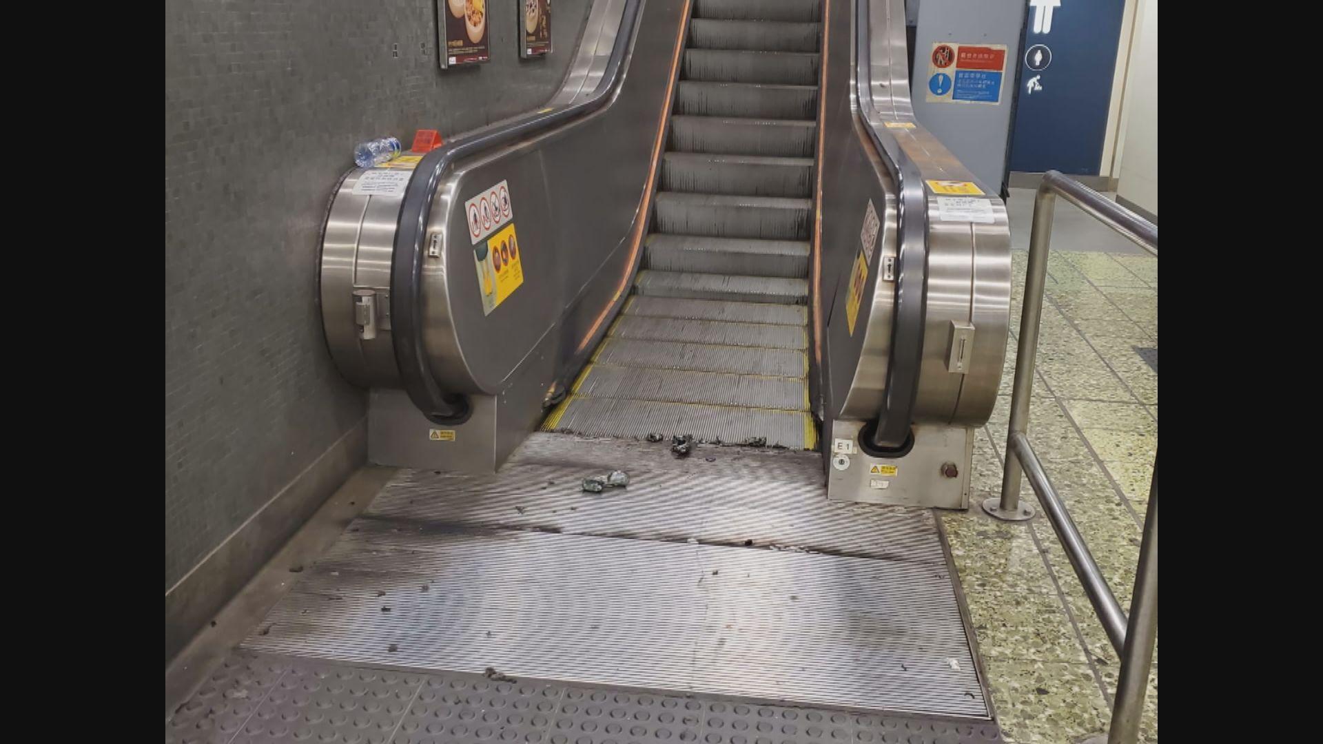 港鐵對針對車站襲擊及惡意破壞表示強烈憤慨