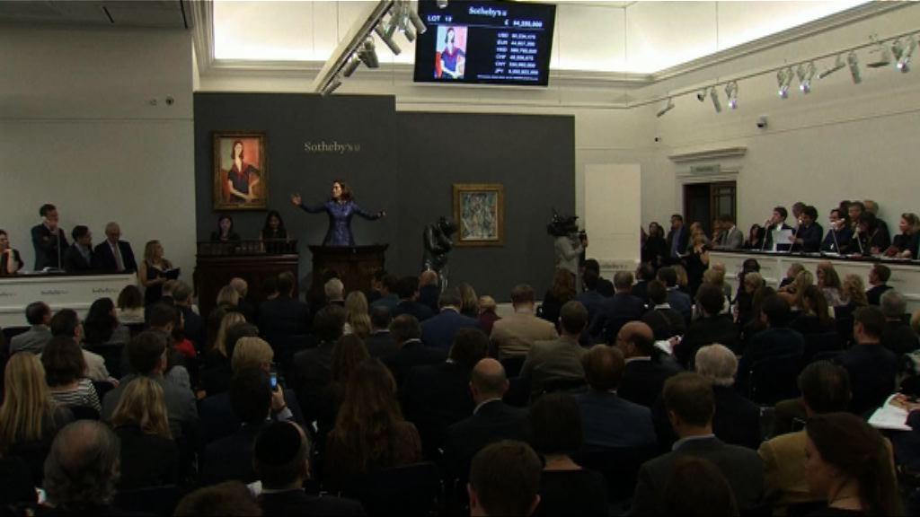 投資者恢復信心帶動藝術品市場