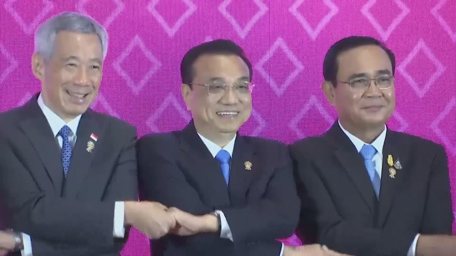 李克強稱要深化跟東盟夥伴關係