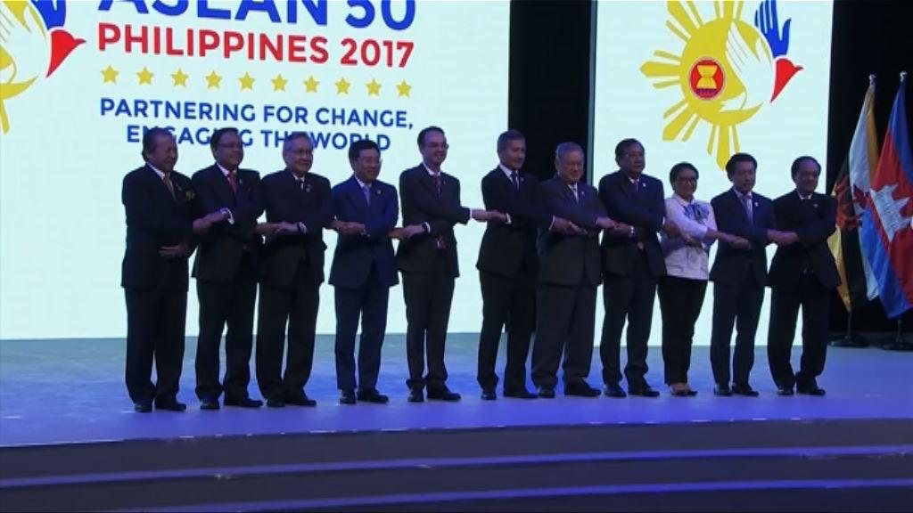 中國東盟通過南海行為準則框架