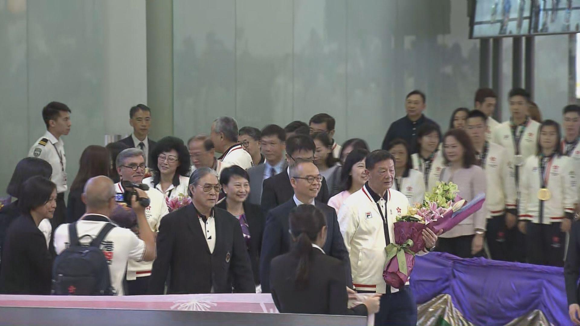 劉江華:今屆亞運香港隊成績令人振奮