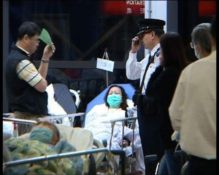 香港晨報兩高層尖沙咀遇襲傷
