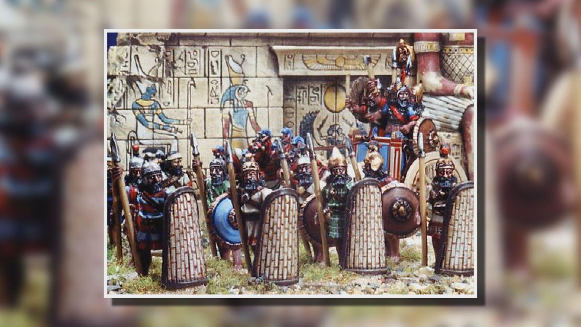 亞述帝國靠武力擴張顯赫一時