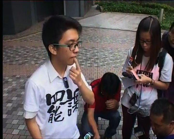 學生大圍站宣傳罷課遇襲被打斷門牙