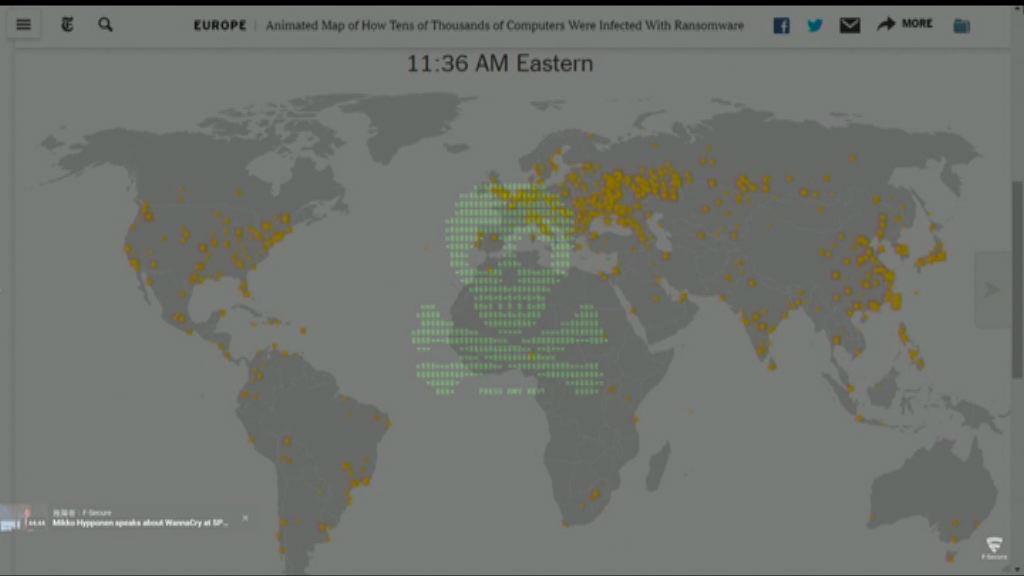 多國再遭勒索軟件攻擊 疑由全新軟件發動