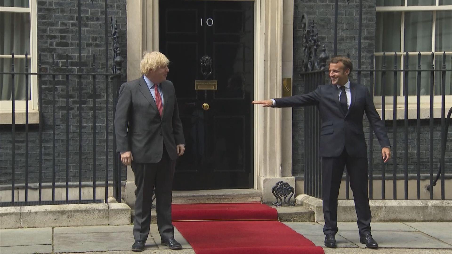 法英領袖通電話談及印太等領域合作