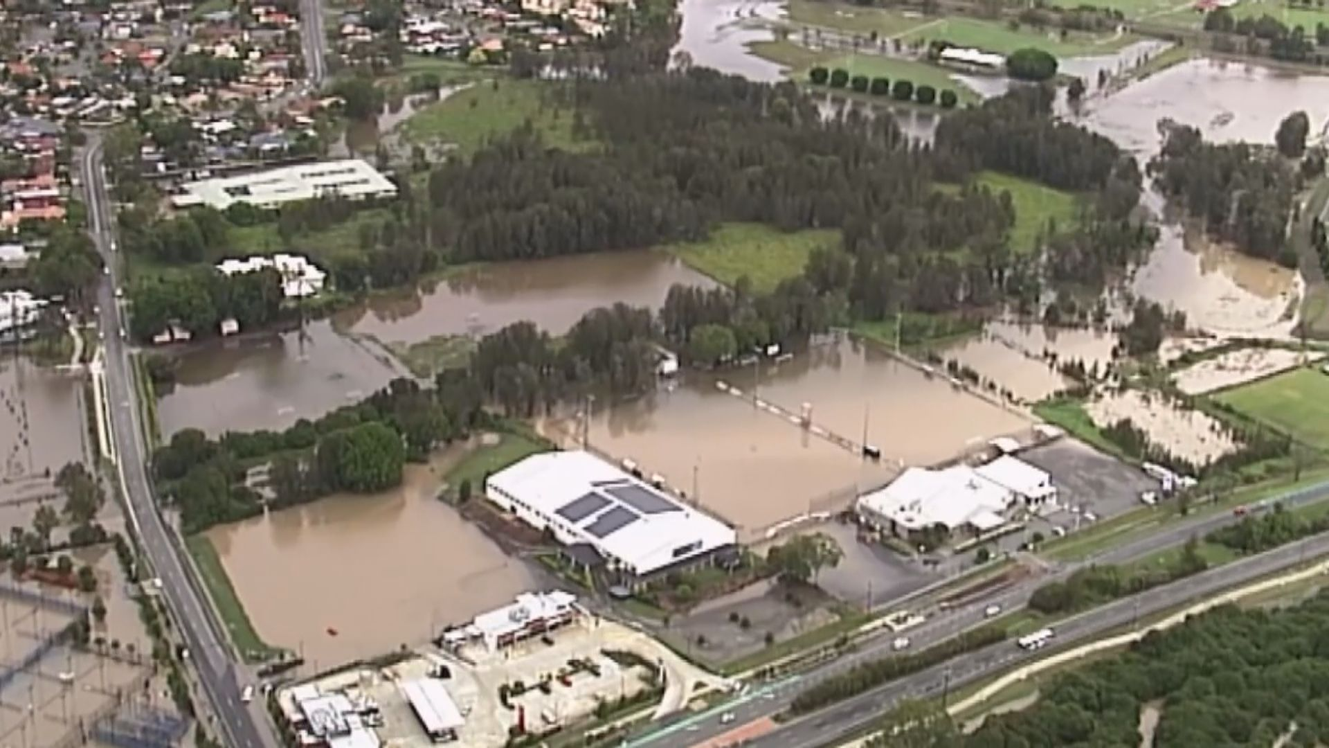 澳洲東岸部分地區暴雨引發水浸