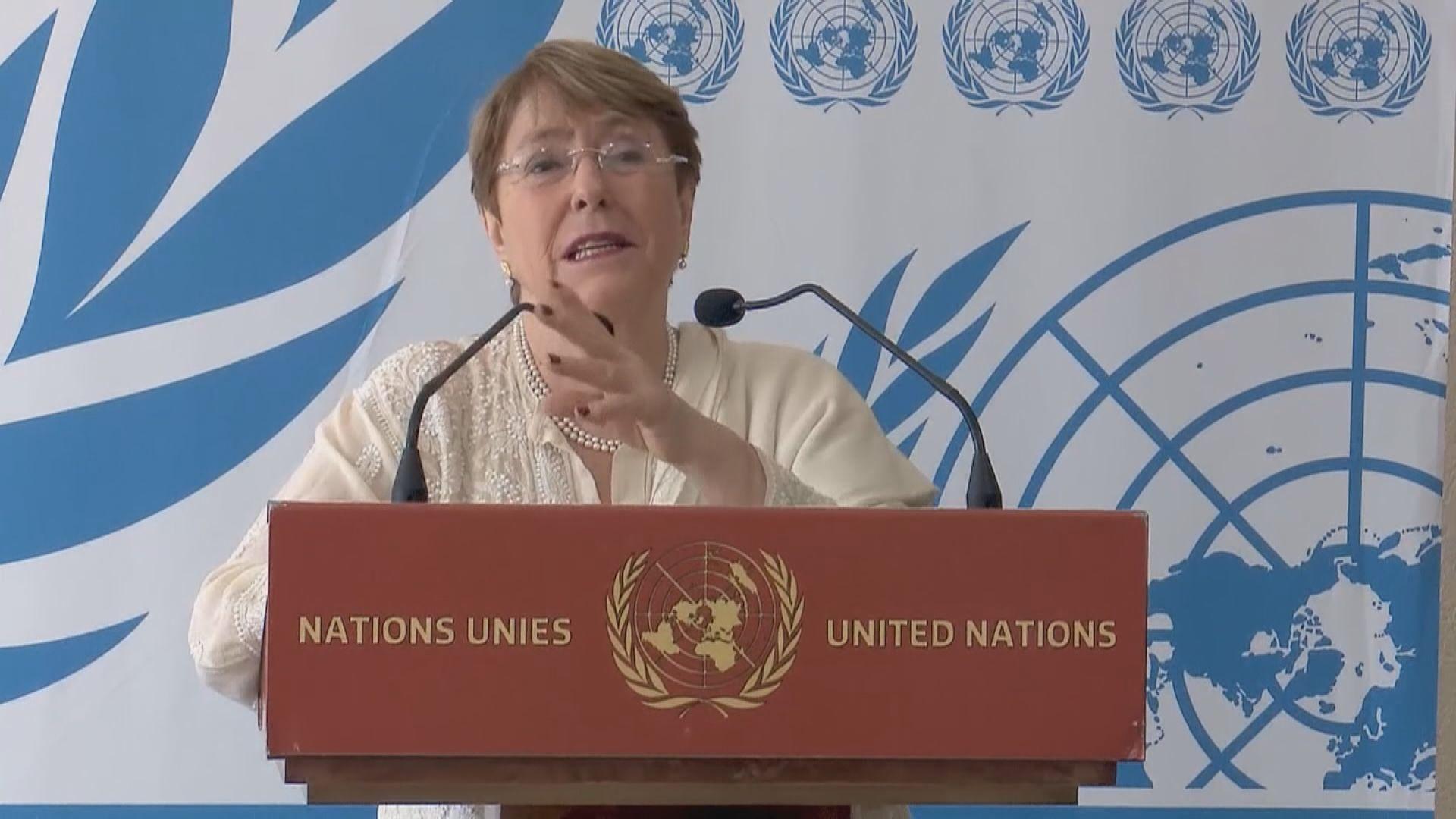 聯合國人權事務高級專員促請港府克制