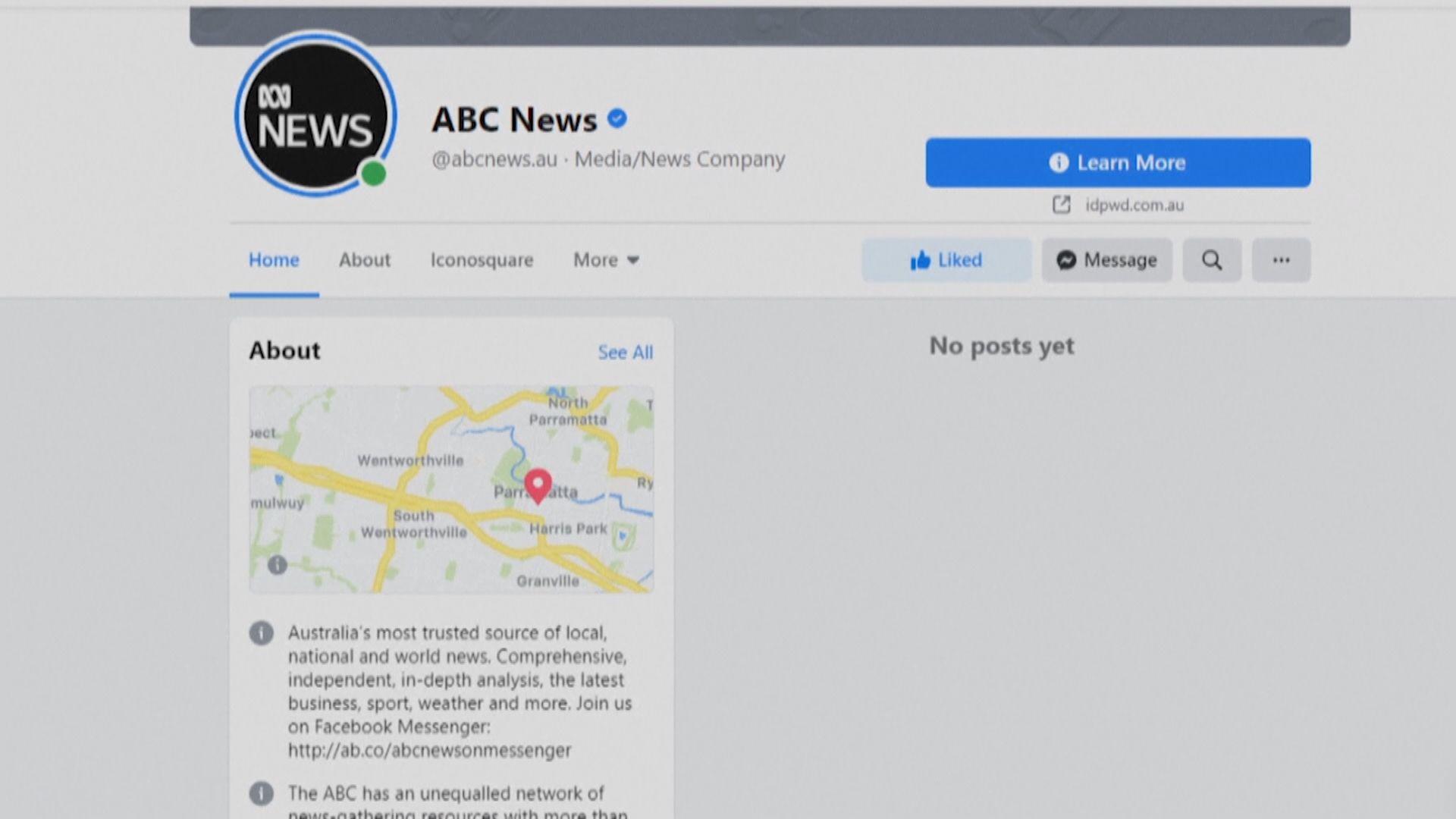 Facebook同意解禁澳洲傳媒專頁