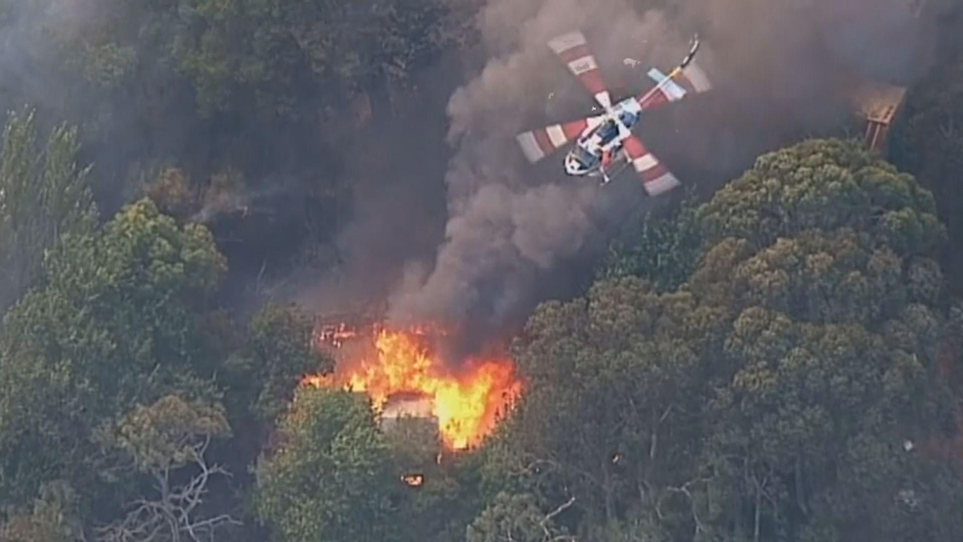 澳洲南部多處山火 逾二千人參與救援