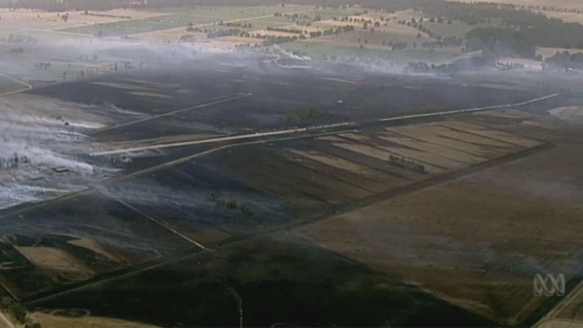 澳洲南部山火持續 多間建築物焚毀