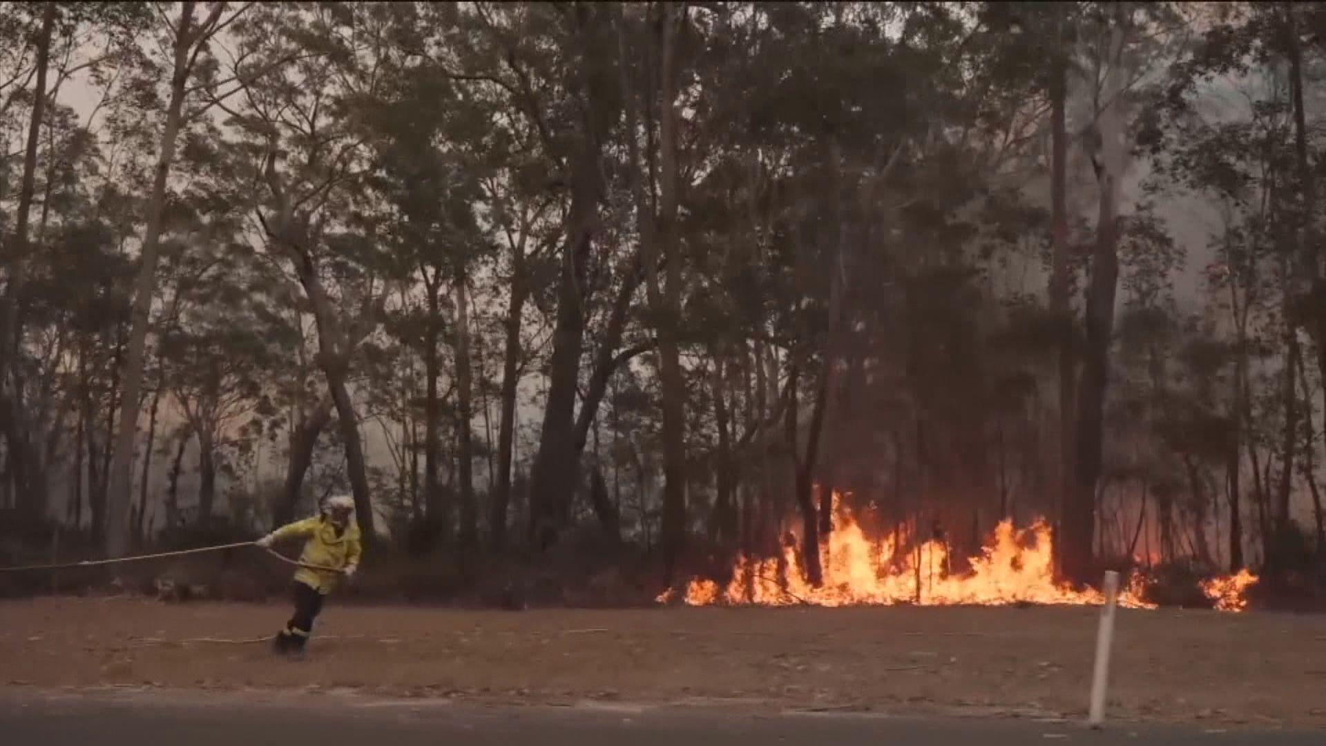 澳洲山火持續 總理指或會延續多月