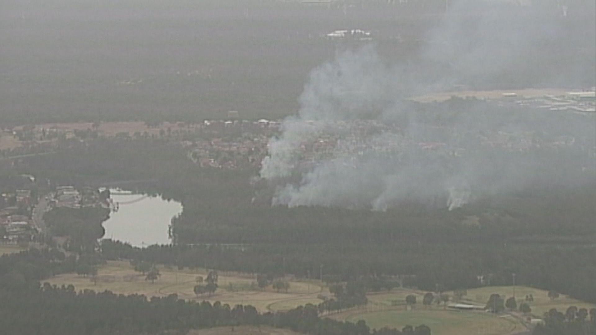 澳洲新南威爾士州局部地區微雨 不足以滅火