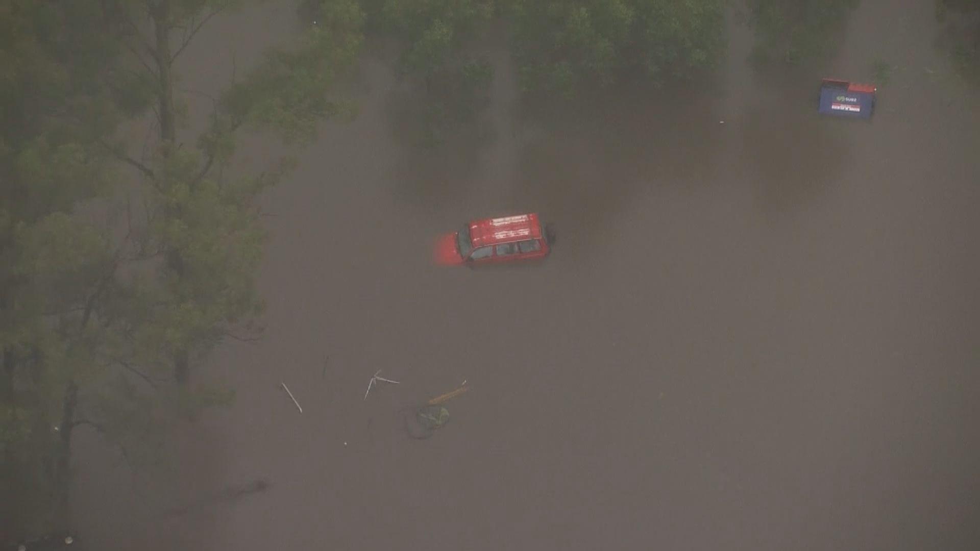 澳洲新南威爾士州暴雨持續水災 近二萬人撤離家園