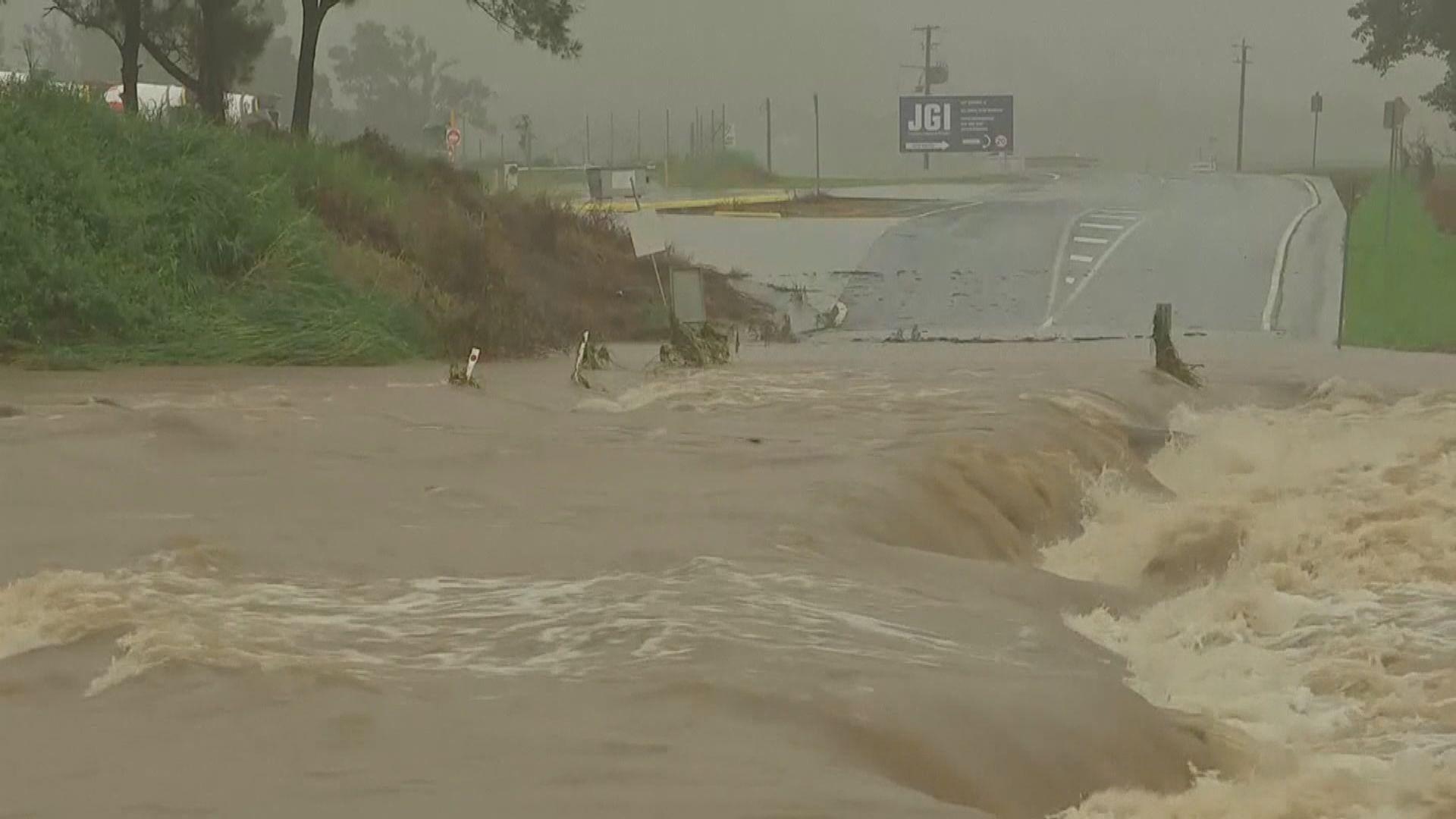 澳洲新南威爾士州水災持續 氣象部門料天氣最快周三好轉